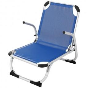 Krzesło kempingowe składane leżak siedzisko do 150 kg lekkie