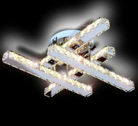 Lampa sufitowa kryształowa oświetlenie LED
