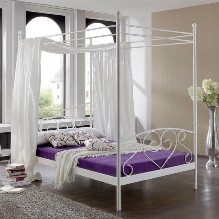 łóżko Z Baldachimem Model Alice Springs