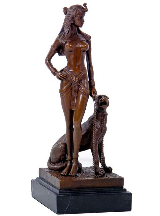 rzeźba egipskiej kr243lowej model kleopatra sklep