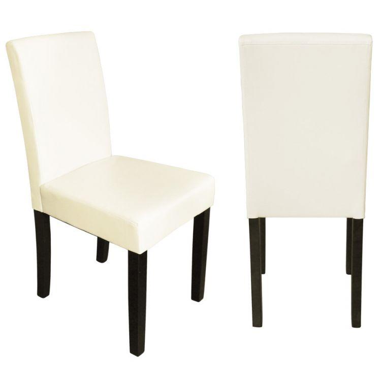 Krzesło skórzane z wysokim oparciem 4 kolory sklep