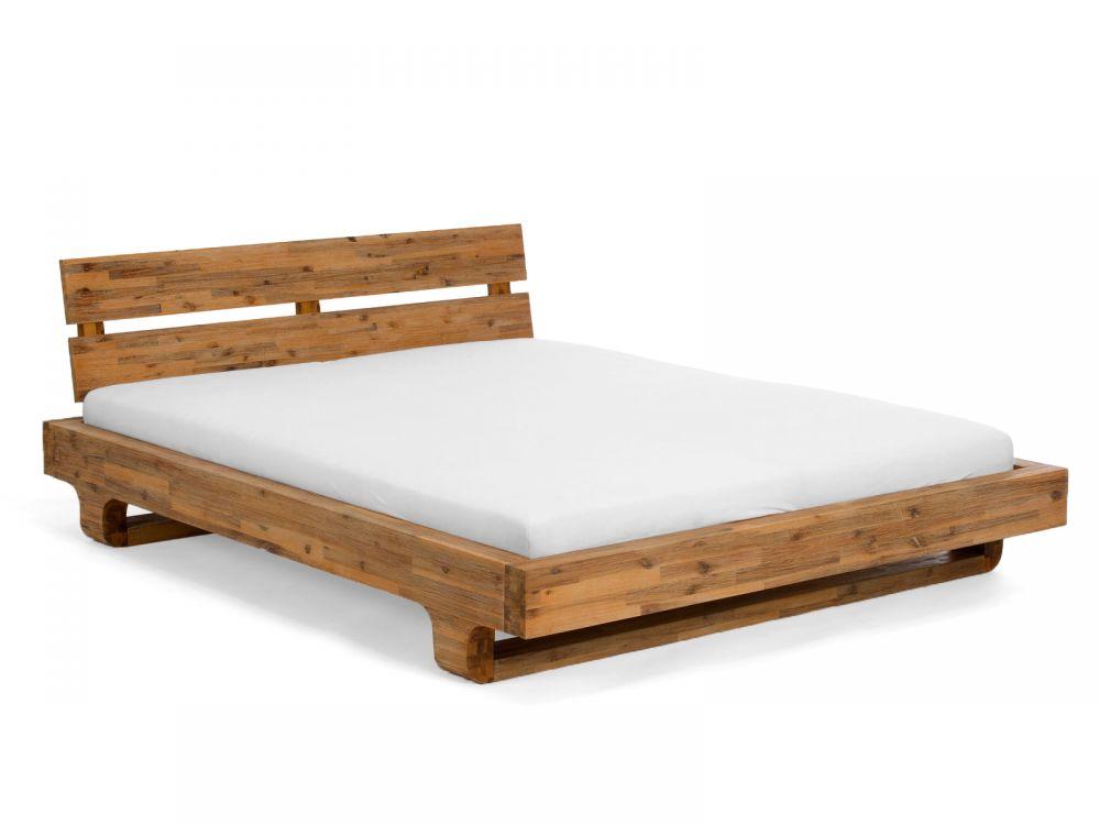 Drewniane łóżko Sypialniane 180x200 Model Madras