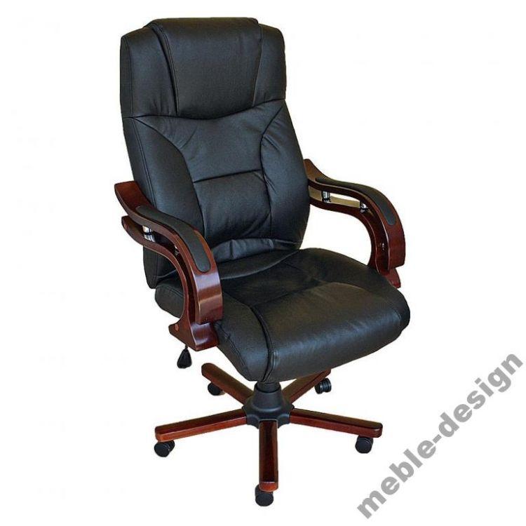 Krzesło biurowe czarne fotel Szefa sklep Kochamymeble.pl