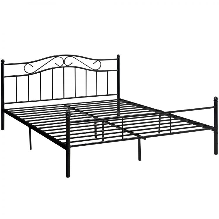 łóżko Metalowe 200x200 Stelaż Hit