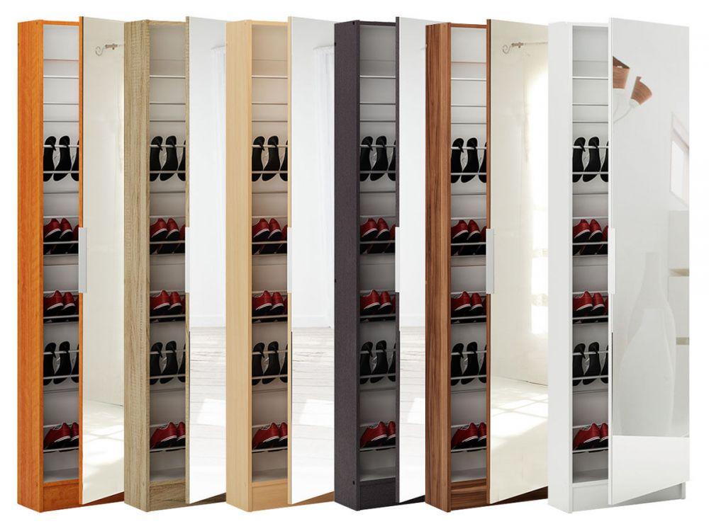 szafa na buty z lustrem szafka do przedpokoju hit sklep. Black Bedroom Furniture Sets. Home Design Ideas