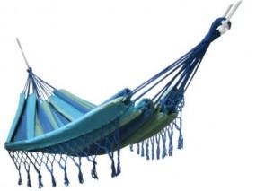Hamak ogrodowy kolorowy zewnętrzny hamak 320x160cm