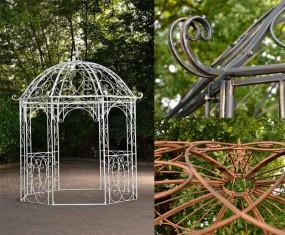 Pawilon ogrodowy altana ogrodowa metalowa pergola