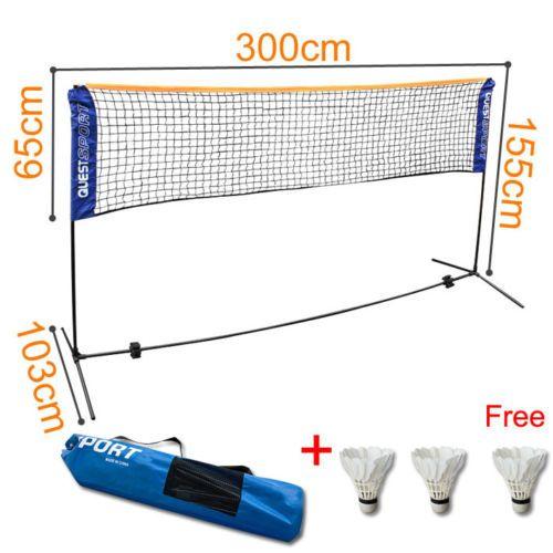 7bc5bf334f4d Siatka do gry w badmintona siatkówki tenisa 300cm - sklep ...