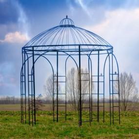 Pawilon ogrodowy altana ogrodowa metalowa 280 CM