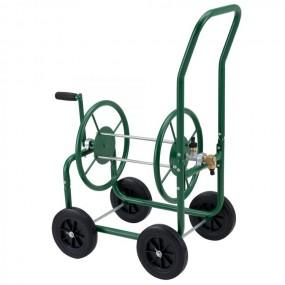 Solidny wózek na wąż ogrodowy 60 m metalowy nowy