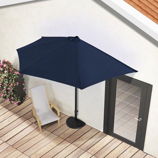 Parasol tarasowy p okr g y 3m sklep - Demi parasol de balcon ...