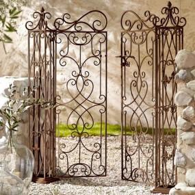 Brama ogrodowa furtka antyczna