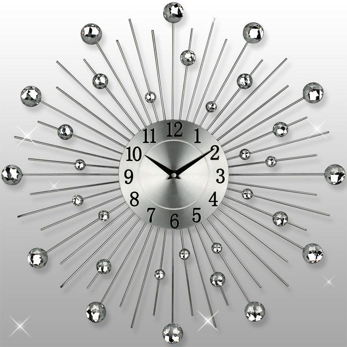 Dekoracyjny Zegar ścienny 3 Elementy Sklep Kochamymeblepl