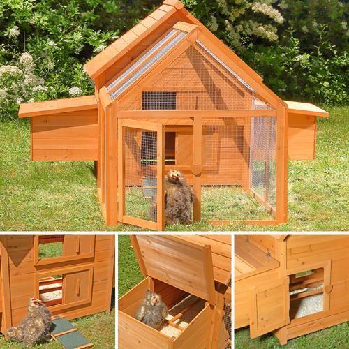 kurnik drewniany z wybiegiem i budkami l gowymi sklep. Black Bedroom Furniture Sets. Home Design Ideas