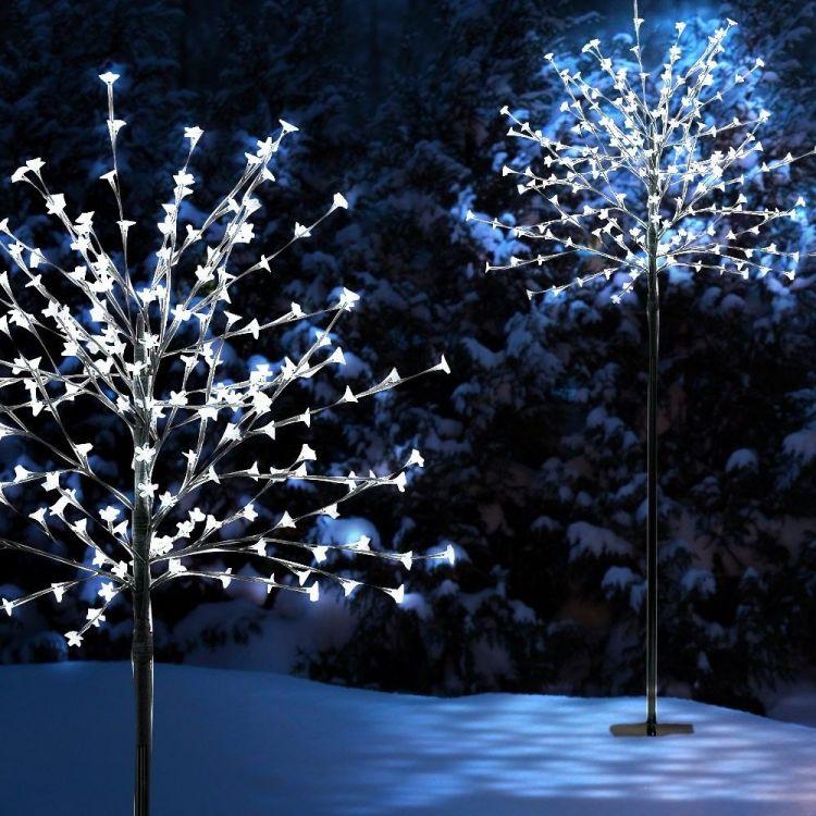 drzewko dekoracyjne br zowe 200 led sklep. Black Bedroom Furniture Sets. Home Design Ideas