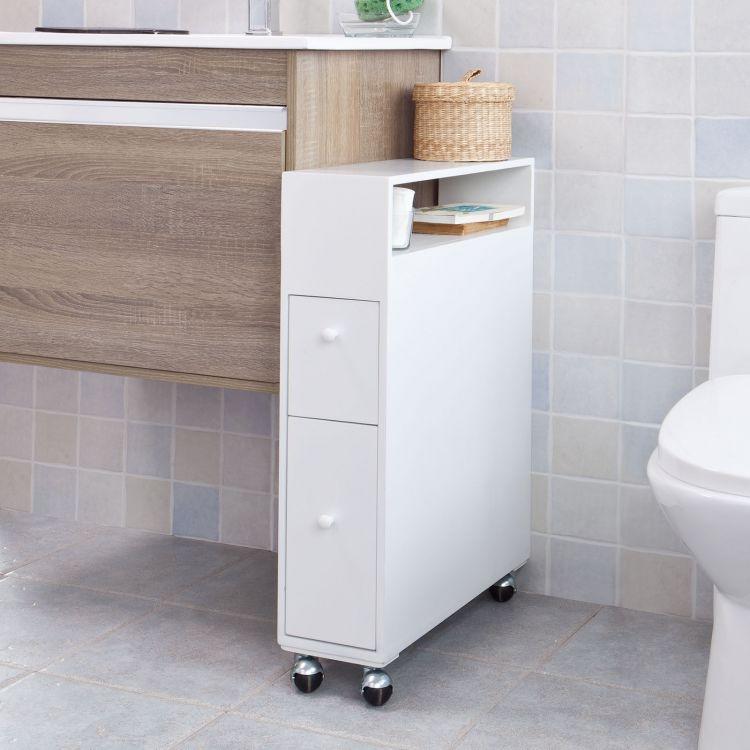 Petit meuble de toilette maison design for Petit meuble wc
