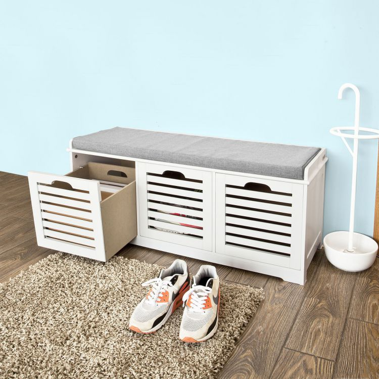Komoda skrzynia awka na buty z siedziskiem hit - Banc tiroir range chaussure ...