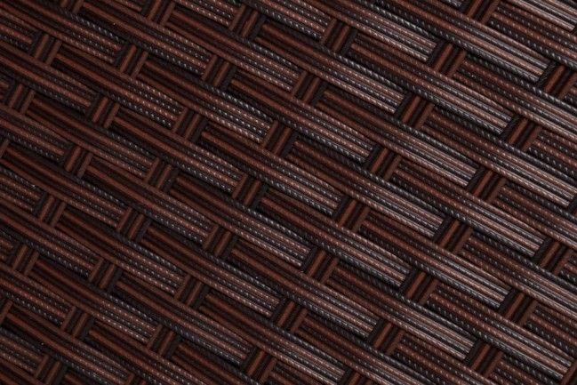 Komplet mebli ogrodowych z rattanu brązowy 4 elementy Palma  sklep