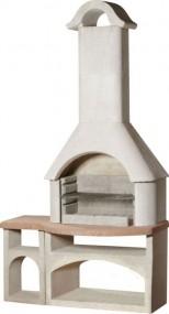 Grill ogrodowy betonowy kominek