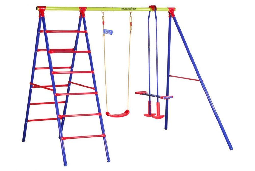 Hustawki Ogrodowe Dla Dzieci Kettler : Plac zabaw Hudora huśtawki + drabinka  Ogrodoweoutletcompl