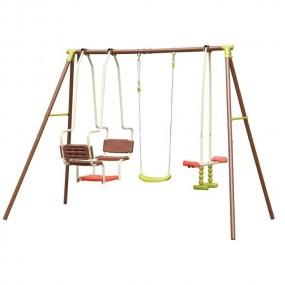 Plac zabaw dla 5 dzieci huśtawka konik gondola