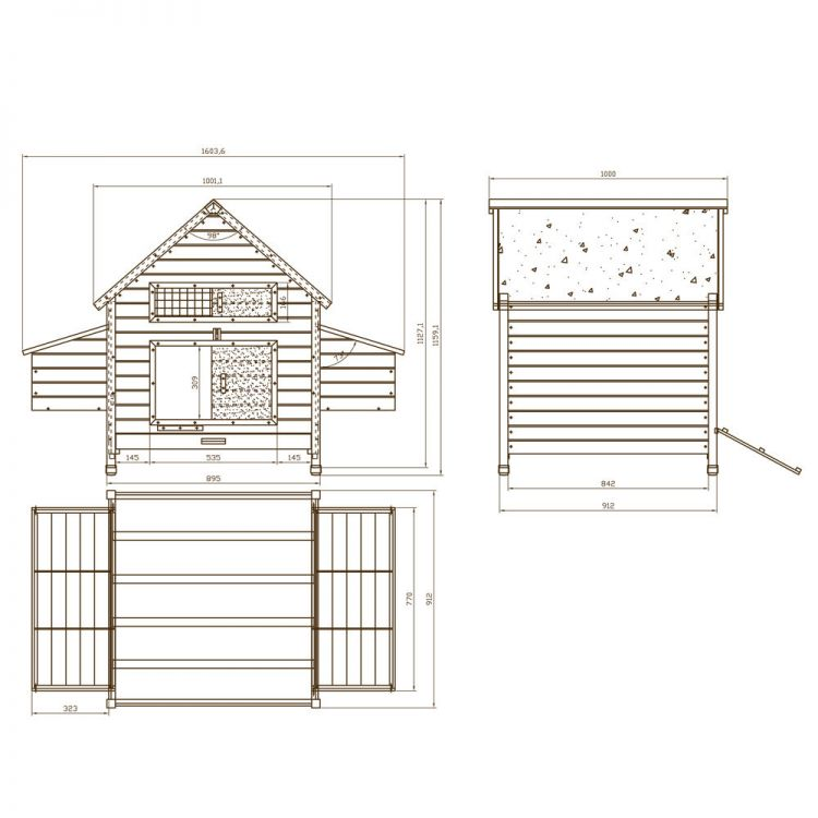 kurnik drewniany dla kur sklep. Black Bedroom Furniture Sets. Home Design Ideas