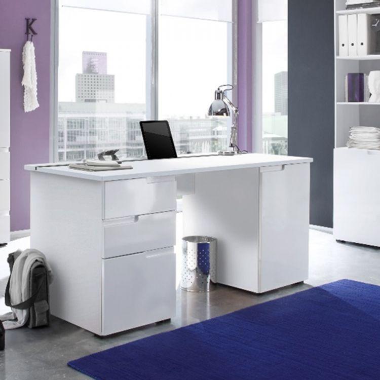biurko komputerowe bia�e po�ysk sklep kochamymeblepl