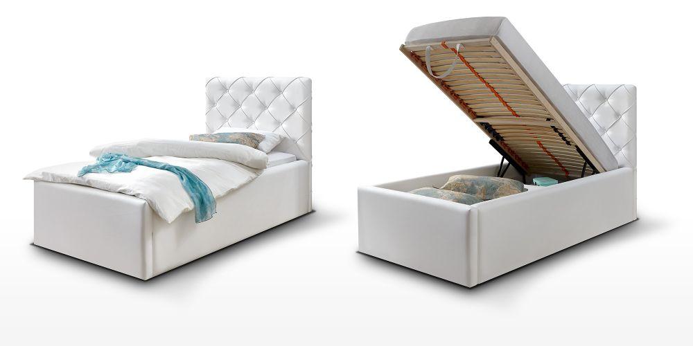 ko sk rzane bia e 90x200 schowek sklep. Black Bedroom Furniture Sets. Home Design Ideas