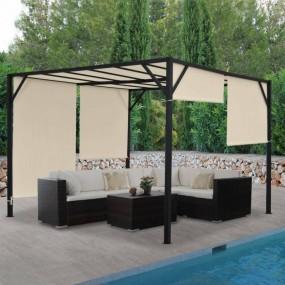 Altana pawilon ogrodowy ściany dach 4x4