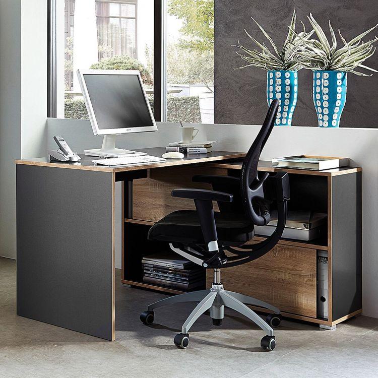 schreibtisch wohnzimmer integrieren interior design und m bel ideen. Black Bedroom Furniture Sets. Home Design Ideas