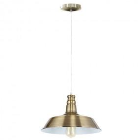 Lampa sufitowa metalowa wisząca loft