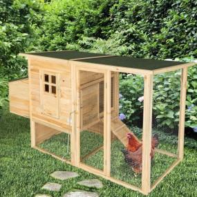 Kurnik klatka dla kur królików z wybiegiem klatka dla zwierząt