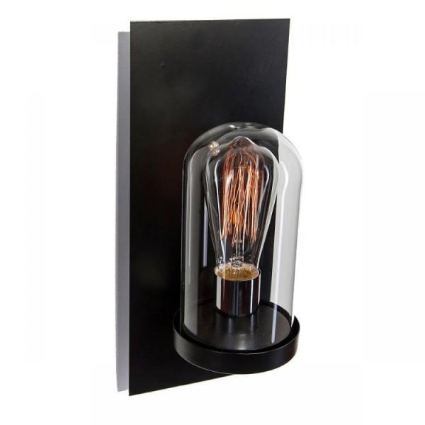Kinkiet ścienny retro antyk lampa czarny ozdobny