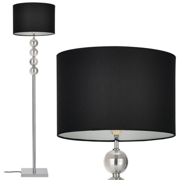 Lampa stojące podłogowa nowoczesna czarna