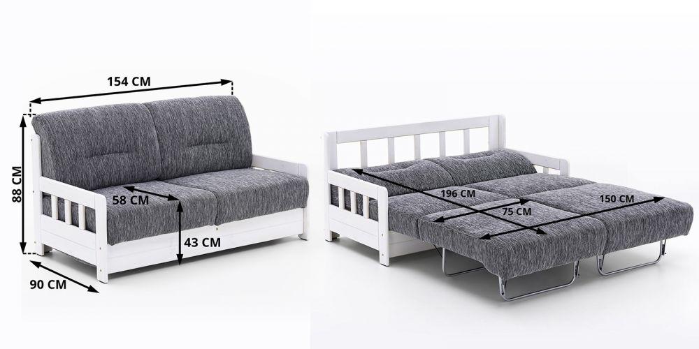 Sofa Z Funkcj Spania 2 Osobowa Model Campus Sklep