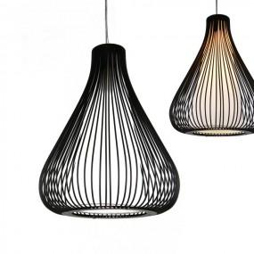 Lampa retro żyrandol vintage industrial loft czarna
