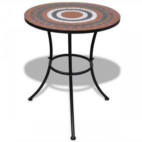 Stolik ogrodowy mozaikowy ceramiczny