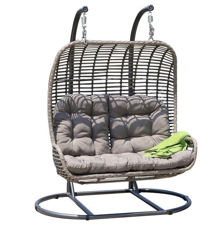 Huśtawka Hamak Krzesło Wiszące Fotel Wiszący 2 Osobowy