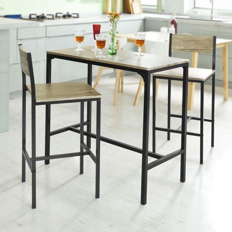 Stolik Kuchenny Barowy Barek 2 Krzesła Sklep Kochamymeblepl