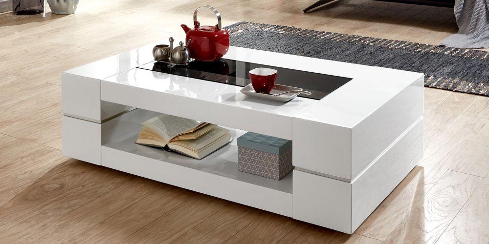 stolik kawowy bia y wysoki po ysk 120cm model sera sklep. Black Bedroom Furniture Sets. Home Design Ideas