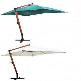 Drewniany parasol ogrodowy 4X3 M