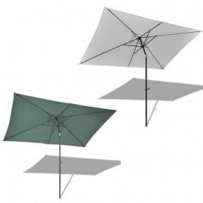 Parasol ogrodowy 2X3 m zielony przeciwsłoneczny