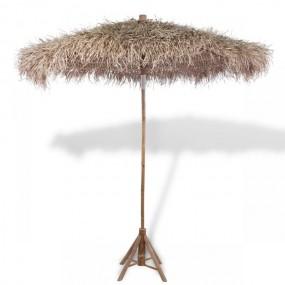 Parasol ogrodowy bambusowy 270 cm