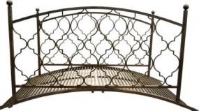 Mostek ogrodowy most metalowy 180 x 80 cm