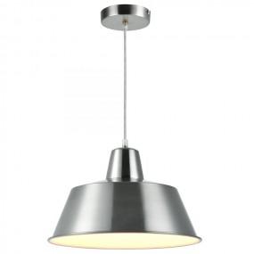 Lampa Nowoczesna Metal Sufitowa Srebrna