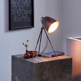 LAMPKA STOŁOWA NA BIURKO RETRO VINTAGE HIT