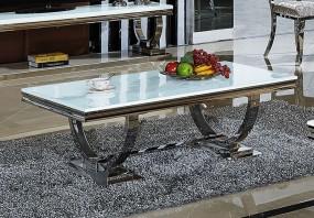 Ekskluzywny stolik 130 cm biały