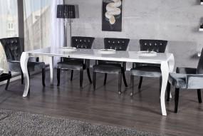 Stół biały do jadalni wysoki połysk 170-230cm rozkładany