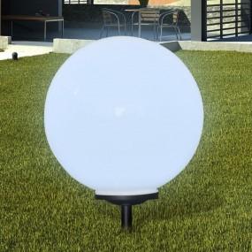 Lampa ogrodowa solarna średnica 50 cm