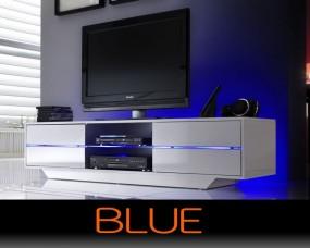 Szafka pod telewizor wysoki połysk 160cm szuflady